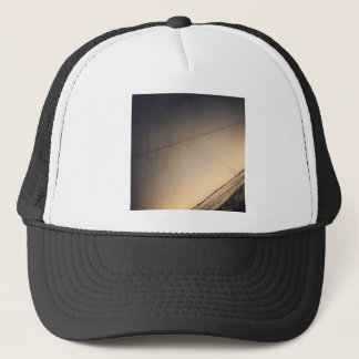 X marks the spot trucker hat