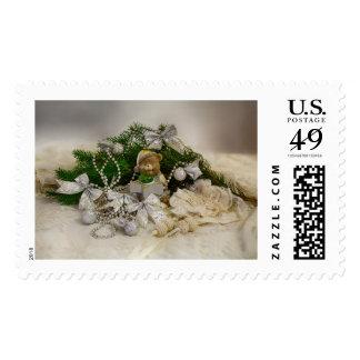 X-mas bear postage set
