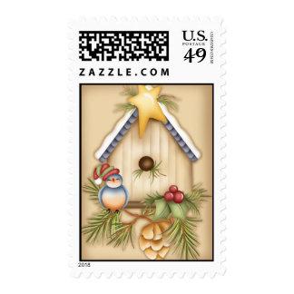 X-Mas Birdie Stamp
