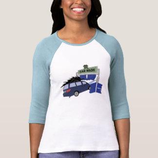 X-mas Ca r wash. T-Shirt