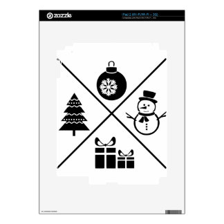 X-Mas Decals For The iPad 2