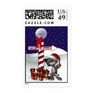 X-Mas Kitten Stamps