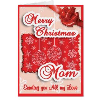 X-mas - MOM Greeting Card