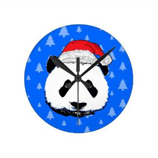 X-Mas Panda Wall Clock