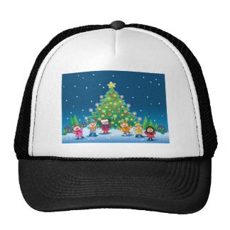 x-mas party trucker hat