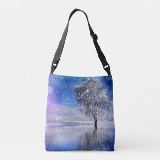 x-mas-romantic winter moment 2 crossbody bag