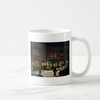 x-mas shopping coffee mug