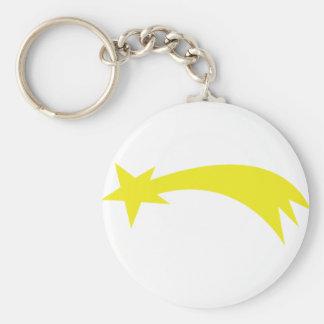 x-mas star - falling star keychain