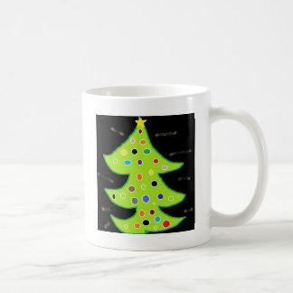 X - MAS TREE COFFEE MUG