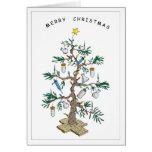 X-Mas Tree Greeting Card