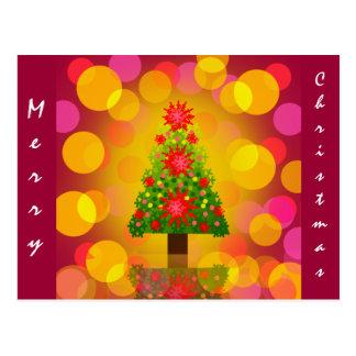 ~ X-mas Tree Set ~ Postcard
