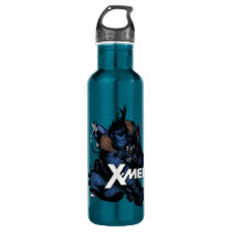 X-Men   Beast Jumping Forward Stainless Steel Water Bottle