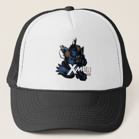 X-Men | Beast Jumping Forward Trucker Hat