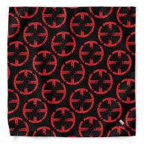 X-Men | Cracked Red and Black X Icon Bandana