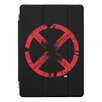 X-Men | Cracked Red and Black X Icon iPad Pro Cover