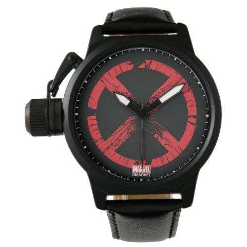 X-Men | Cracked Red and Black X Icon Watch