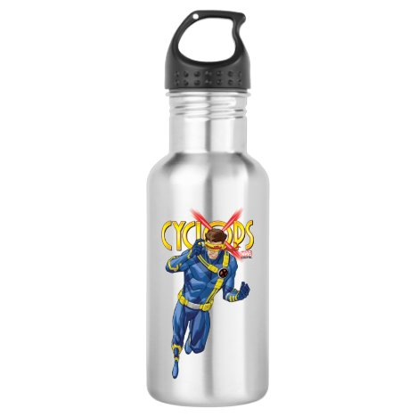 X-Men | Cyclops Character Art Stainless Steel Water Bottle