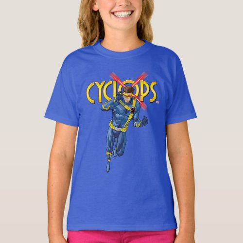 X_Men  Cyclops Character Art T_Shirt