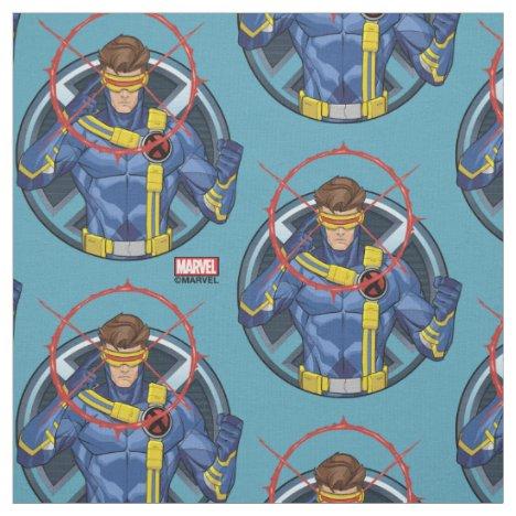 X-Men | Cyclops Character Badge Fabric