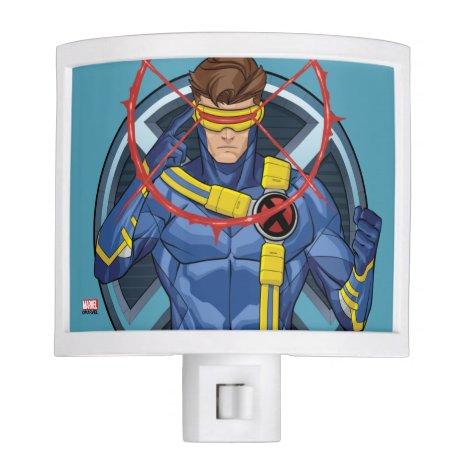 X-Men   Cyclops Character Badge Night Light