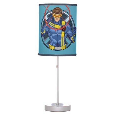 X-Men   Cyclops Character Badge Table Lamp