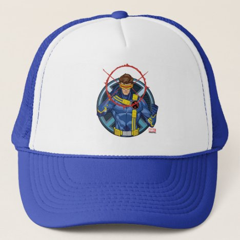 X-Men | Cyclops Character Badge Trucker Hat