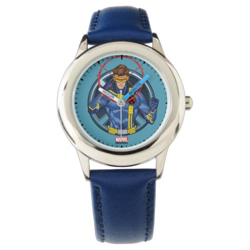 X-Men | Cyclops Character Badge Watch