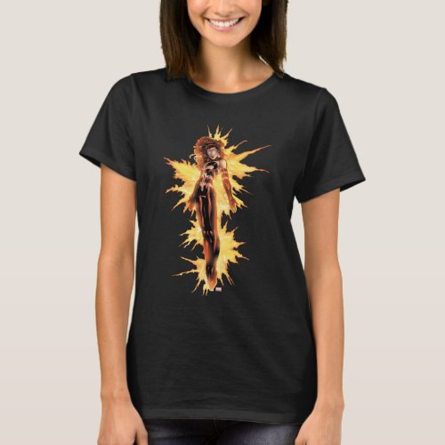 X_Men  Dark Phoenix Aflame T_Shirt