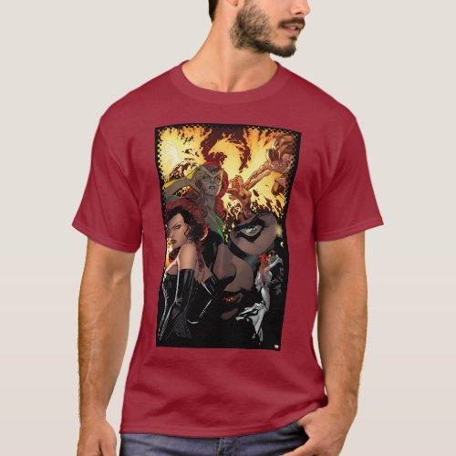 X_Men  Dark Phoenix  Jean Grey Collage T_Shirt