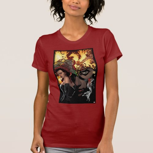 X_Men  Dark Phoenix  Jean Grey Collage T_Shirt