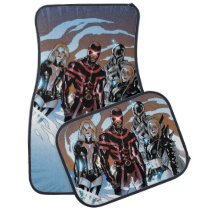 X-Men   Emma Frost, Cyclops, Magneto, & Magik Car Floor Mat