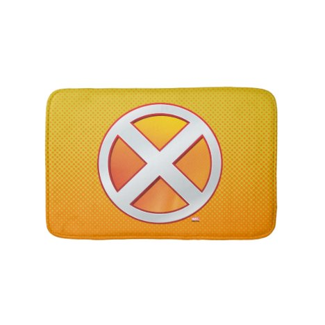 X-Men | Gold and White X Icon Bath Mat