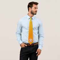 X-Men | Gold and White X Icon Neck Tie