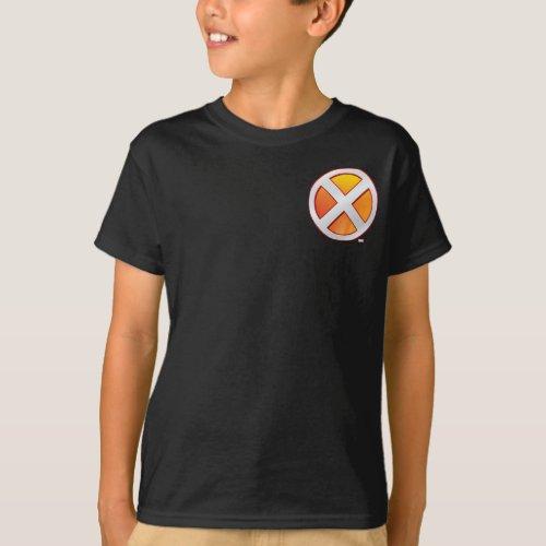 X_Men  Gold and White X Icon T_Shirt