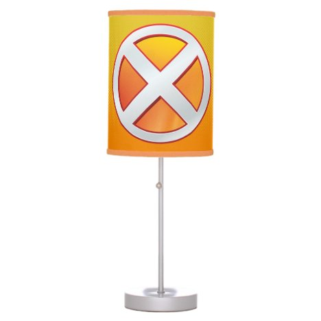 X-Men | Gold and White X Icon Table Lamp