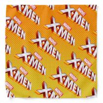 X-Men | Gold and White X-Men Logo Bandana
