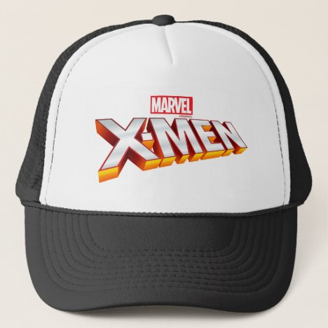 X-Men | Gold and White X-Men Logo Trucker Hat