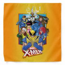 X-Men | Group Badge With Logo Bandana