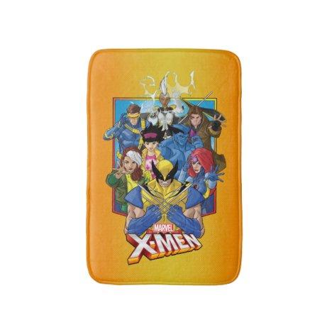 X-Men | Group Badge With Logo Bath Mat