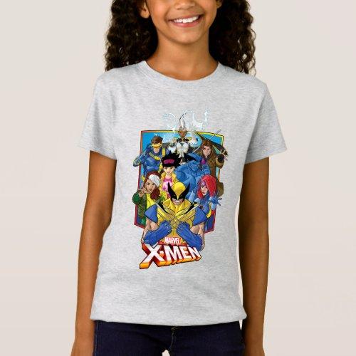 X_Men  Group Badge With Logo T_Shirt