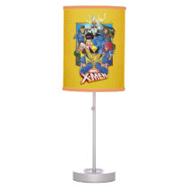 X-Men   Group Badge With Logo Table Lamp