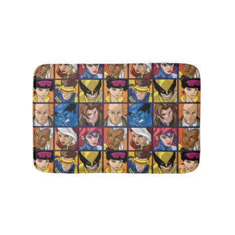 X-Men | Group Profile Grid Bath Mat
