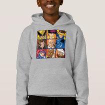 X-Men | Group Profile Grid Hoodie