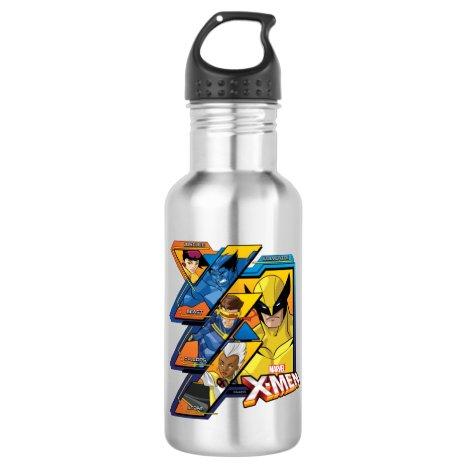 X-Men | Hi-Tech Team Badge Stainless Steel Water Bottle