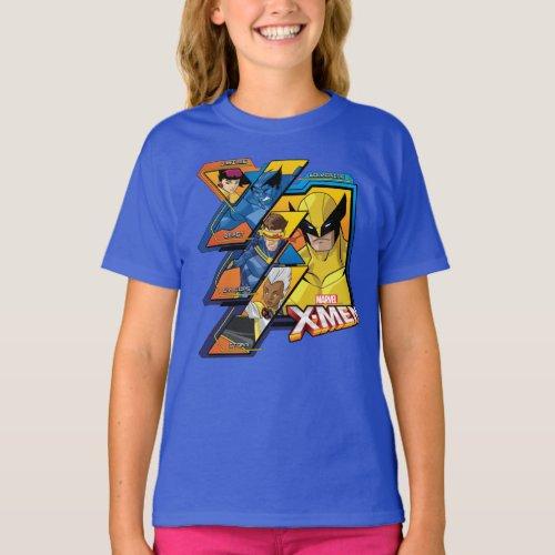 X_Men  Hi_Tech Team Badge T_Shirt