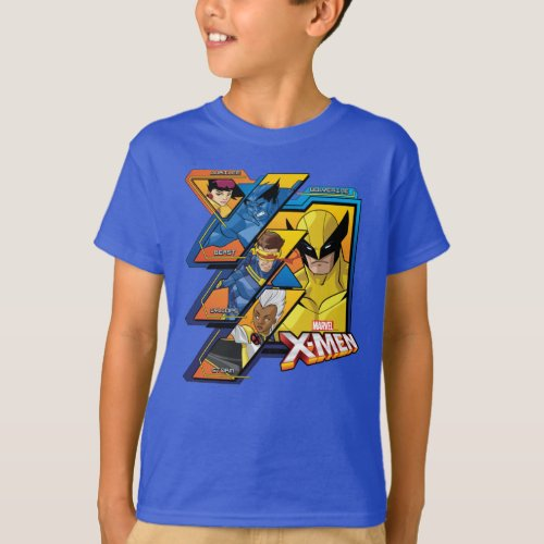 X_Men  Hi_Tech Team Badge T_Shirt