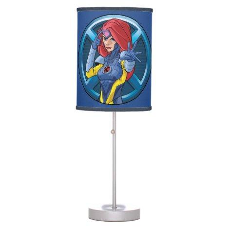 X-Men | Jean Grey Character Badge Table Lamp