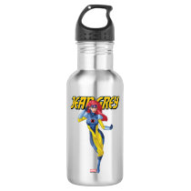 X-Men | Jean Grey Using Psychic Powers Stainless Steel Water Bottle