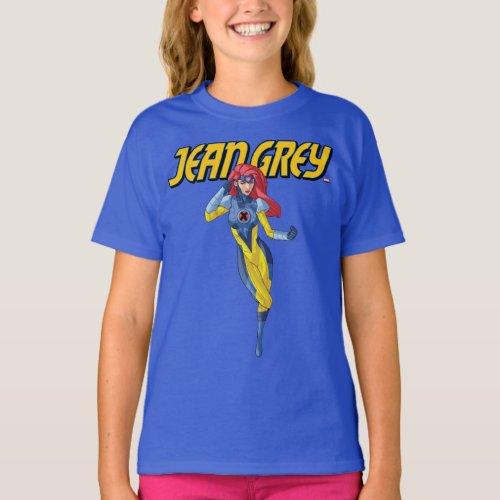 X_Men  Jean Grey Using Psychic Powers T_Shirt