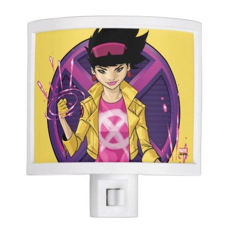 X-Men   Jubilee Character Badge Night Light